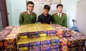 Nghệ An: Một ngày bắt 5 vụ buôn pháo, thu giữ 320kg