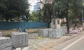 Hà Nội: Hàng loạt sai phạm tại nhiều dự án lát đá vỉa hè