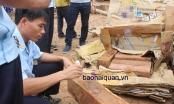Ngụy trang gỗ lậu trong giấy phế liệu