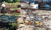 Quảng Ngãi: Rác thải ngập tràn Cảng cá Sa Huỳnh