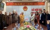 Giáo hội Phật giáo Việt Nam chúc Tết, tặng quà tại các tỉnh biên giới Tây Bắc