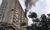 Hà Nội: Nổ bình ga, cháy lớn tại chung cư ở Nam Trung Yên