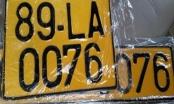Sẽ dùng biển số màu vàng cho xe kinh doanh vận tải