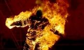Tẩm chất gây cháy để đốt vợ rồi lên công an tự thú