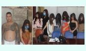 Thanh niên thuê nhà nghỉ cùng 8 cô gái sử dụng ma túy