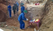 Quảng Trị: Tìm thấy 40 bộ hài cốt liệt sĩ tại khu vực chiến trường xưa