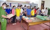 Hà Giang: Bắt quả tang nhóm 14 người sát phạt nhau trên chiếu bạc