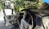 Thông tin mới vụ thi thể người đàn ông nằm trong xe taxi cháy rụi