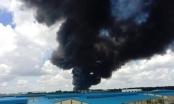 Hỏa hoạn bao trùm công ty Tài Phú, Bình Dương