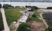 """Đã hết thời hạn di rời, xưởng đúc bê tông vi phạm ở xã Kim Lan vẫn """"chình ình"""" tại chỗ"""
