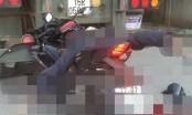 Đâm vào đuôi xe container đang đỗ, nam thanh niên điều khiển xe máy tử vong