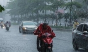 Ảnh hưởng của rãnh áp thấp, mưa to bao trùm Bắc Bộ