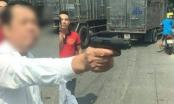 Khởi tố, bắt tạm giam người đàn ông dùng súng dọa bắn tài xế xe tải ở Bắc Ninh