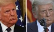 Tóc ông Trump đổi màu sau đợt bầu cử
