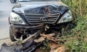 Hà Nội: Xe sang gây tai nạn liên hoàn trên phố Trần Thái Tông