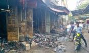 Thanh Hóa: Cháy chợ thiêu rụi nhiều ki ốt