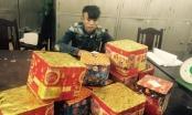 Thanh Hóa: Bắt kẻ thuê taxi chở pháo hoa đi bán