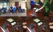 Thanh Hóa: Bắt 5 đối tượng trộm cắp xe máy chuyên nghiệp
