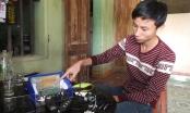 Thanh Hóa: Nam sinh sáng chế máy chống ngủ gật cho các tài lái xe