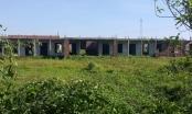 Ninh Bình: Hàng loạt trường học tiền tỷ xây dựng dở dang rồi bỏ hoang