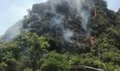 Ninh Bình: Cháy rừng đặc dụng, hàng trăm người tham gia dập lửa
