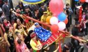 Lễ rước 32 cụ già thượng thọ ở Quảng Ninh