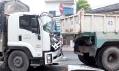 Tai nạn giao thông Plus: Tông xe liên hoàn, tài xế xe tải mắc kẹt trong cabin