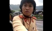 Quảng Ninh: Chiến sĩ CSGT bị người dân phản ứng khi không mang thẻ xanh