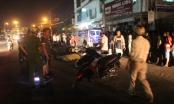 Tin tai nạn giao thông Plus: Dừng chờ đèn đỏ, 2 xe máy bị xe tải tông trúng