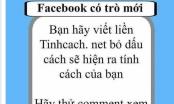 Khám phá tính cách của bạn trong bình luận facebook