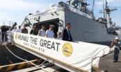 Tàu khu trục Hải quân Hàn Quốc chính thức thăm hữu nghị Đà Nẵng