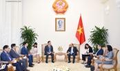 Thủ tướng Nguyễn Xuân Phúc tiếp lãnh đạo Tập đoàn Samsung