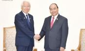 Thủ tướng tiếp Thống đốc tỉnh Hyogo, Nhật Bản