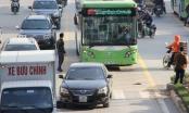 Hà Nội: Xử lý nghiêm phương tiện cá nhân lấn làn xe buýt nhanh BRT