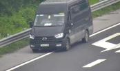 Lùi xe trên cao tốc Hà Nội - Hải Phòng đã xử lý 02 lái xe, còn 01 lái xe đang mời lên làm việc