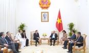 Thủ tướng Nguyễn Xuân Phúc tiếp Đại sứ Cộng hòa Pháp