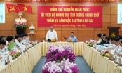 Thủ tướng làm việc với lãnh đạo chủ chốt tỉnh Lào Cai