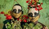Vẻ đẹp độc đáo trong cách trang điểm, làm tóc của bộ lạc Châu Phi