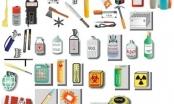 Danh mục những vật phẩm nguy hiểm bị cấm mang lên máy bay