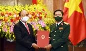 Thượng tướng Nguyễn Tân Cương được bổ nhiệm giữ chức Tổng Tham mưu trưởng Quân đội Nhân dân Việt Nam