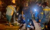 Nam công nhân môi trường bất ngờ bị xe máy tông khi đang làm việc