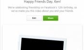 Tính năng mới FriendsDay của Facebook
