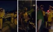 TP HCM: CSGT đánh người rồi vào xe cố thủ