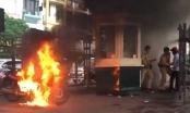 Đốt xe vì bị CSGT xử phạt: Phạm ba tội!