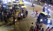Taxi, GrabBike Hà thành chém nhau như phim hành động