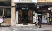 Cửa hàng Khai Silk tại Hà Nội bị tiến hành kiểm tra, khám xét