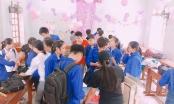 Nghệ An: Tập thể các bạn nữ tổ chức tiệc toàn màu hồng cho hội con trai trong lớp
