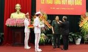 Đại tướng Phùng Quang Thanh được Trao Huy hiệu 50 năm tuổi Đảng