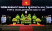 Nhiều đoàn khách trong nước và Quốc tế viếng Chủ tịch nước Trần Đại Quang