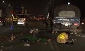 Va chạm với xe tải trên cầu Nhật Tân, nam thanh niên tử vong tại chỗ